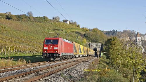 BR 185 361-3 Train Intermodal à Istein