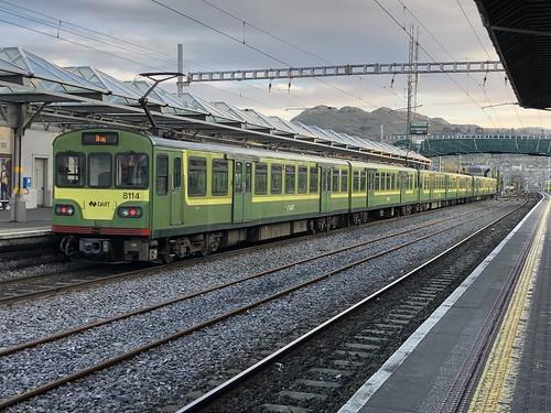 8114 at Bray Railway Station