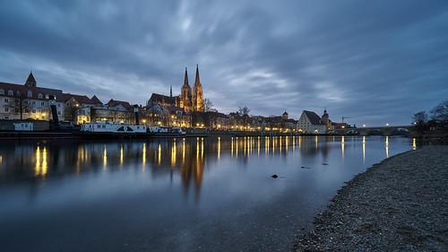 city night light Regensburg