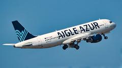 Airbus A320-200 Aigle Azur - Photo of Le Rove