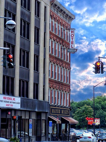 Hartford Connecticut - Mayor Mike's - Avon Hotel - Historic District - Now Homewood Suites by Hilton Hartford Downtown .
