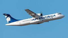 ATR 72-500 Air Corsica - Photo of Le Rove