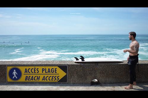 Beach Access at Bidart
