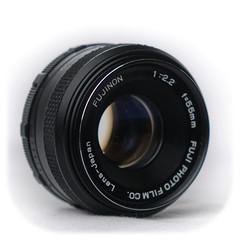 Fujinon 55mm f/2.2 M42 (1977)