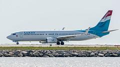Boeing 737-800 Luxair