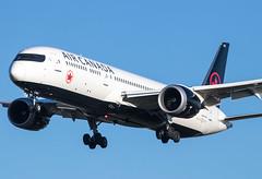 EGLL - Boeing 787 Dreamliner - Air Canada - C-FVNF