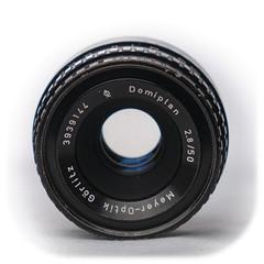Meyer-Optik Görlitz Q1 Domiplan 50mm f/2.8 M42 (1968)