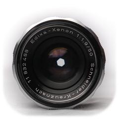 Schneider-Kreuznach Edixa-Xenon 50mm f/1.9 M42 (1972)