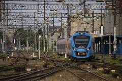 36WEa-023 and 36WEa-003 arriving to the Katowice Railway Station