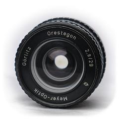 Meyer-Optik Görlitz Orestegon 29mm f/2.8 M42 (1964)