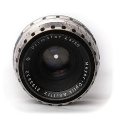 Meyer-Optik Görlitz Primotar 50mm f/2.8 M42 (1958)