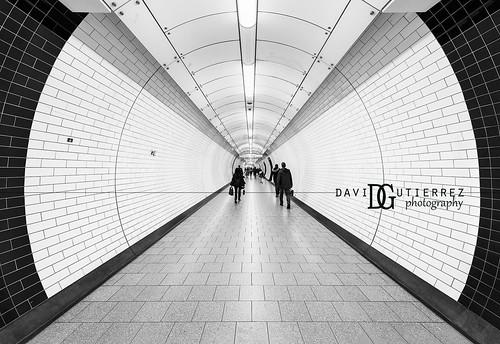 Tottenham Court Road Tube Station - London, UK