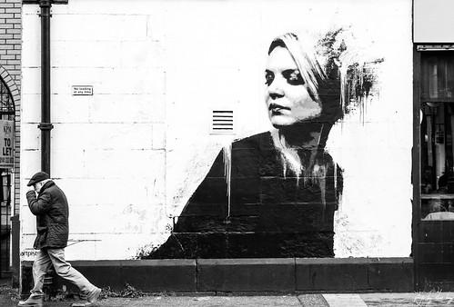 Sitting Woman In Black by James Klinge