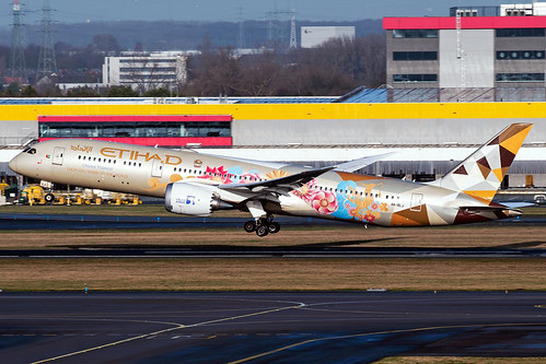 A6-BLJ | Boeing 787-9 Dreamliner | Etihad Airways