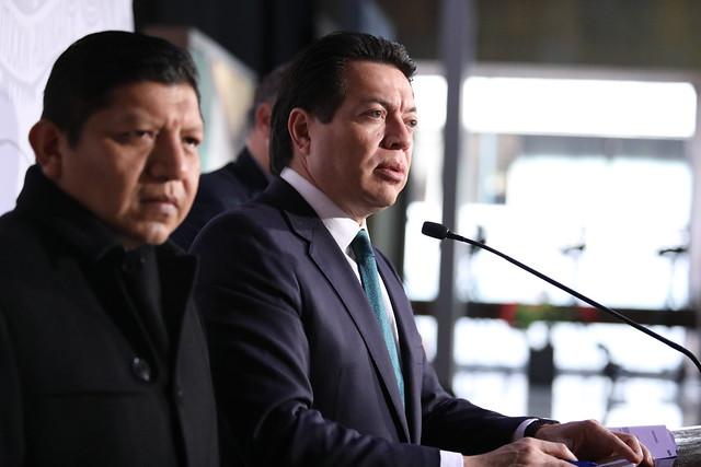 18/12/2019 Conferencia de prensa Dip. Mario Delgado Carrillo