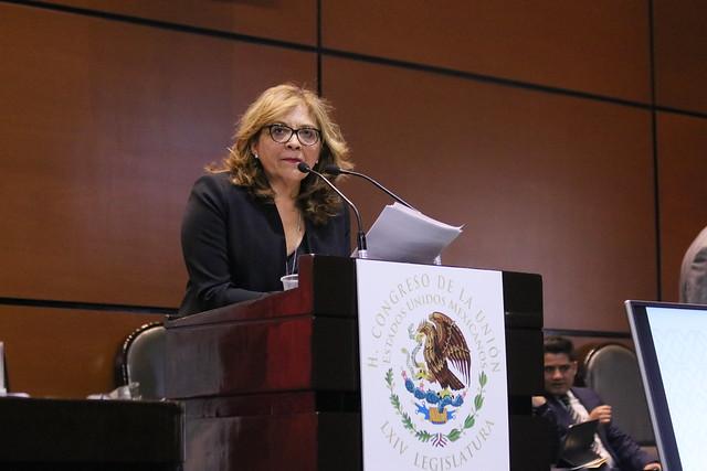 08/01/2020 Tribuna Dip. María de los Ángeles Huerta del Río
