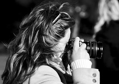 The woman photographer profile