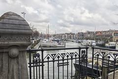 Uitzicht over De Nieuwe Haven