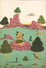 Ragamala Asavari Ragini (Musée national des arts asiatiques Guimet, Paris)