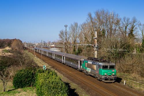 20 janvier 2020 BB 22275 Train 4663 Bordeaux-St-Jean -> Marseille-St-Charles Villenave-d'Ornon (33)