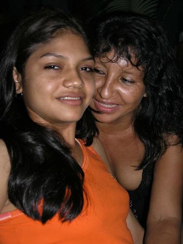 Teresa y su mamá - Brazil 2004