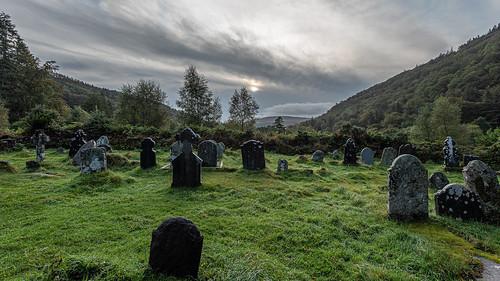 Ireland 2019 - Glendalough monuments