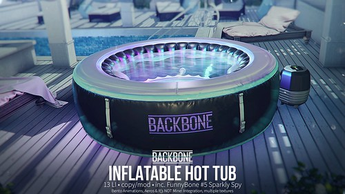 BackBone Inflatable Hot Tub