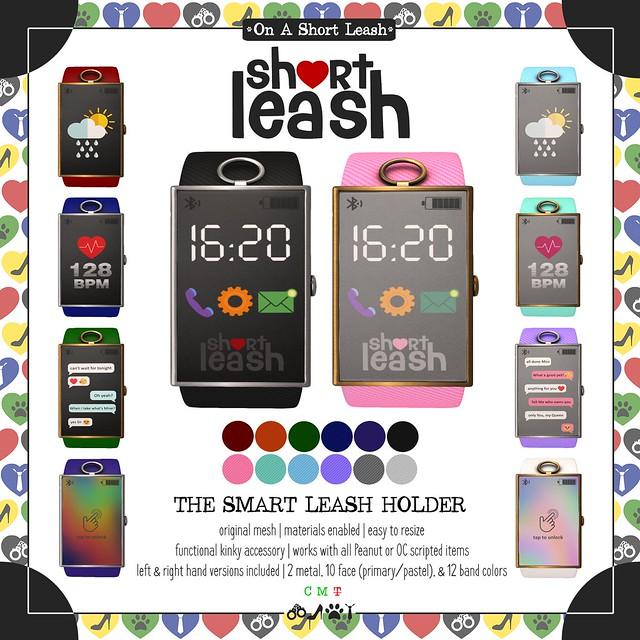 .:Short Leash:. The Smart Leash Holder
