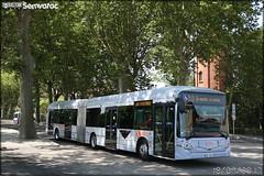 Heuliez Bus GX 427 – Tisséo n°1458 - Photo of Lacroix-Falgarde