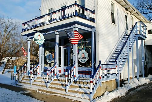 Hansen's Ice Cream Parlor - Wilmot, Wisconsin