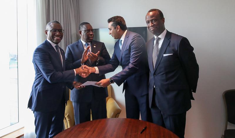 Signature en marge du Sommet UK Africa Invest@