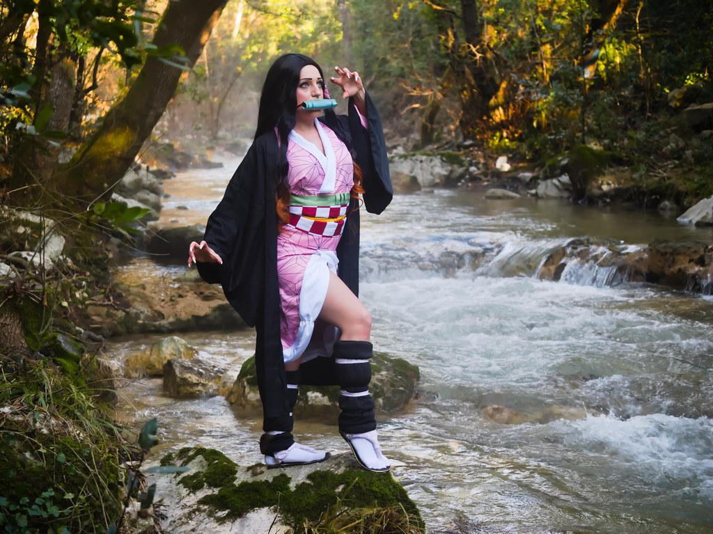 related image - Shooting Kimetsu no Yaiba: Demon Slayer - Nezuko Kamado - Neytiria - Bords de la Brague - Biot -2019-12-31- P1988118