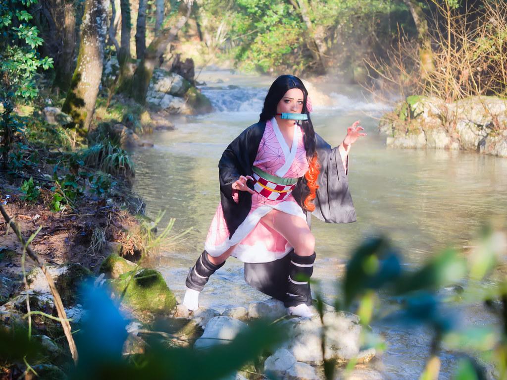 related image - Shooting Kimetsu no Yaiba: Demon Slayer - Nezuko Kamado - Neytiria - Bords de la Brague - Biot -2019-12-31- P1988096