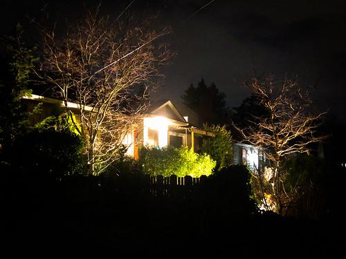 A night walk around the North Tabor and Montavilla neighborhoods.