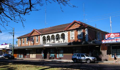Swansea Hotel, Swansea, Newcastle, NSW.
