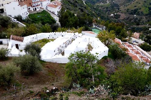 Sayalonga (Málaga-España). Cementerio redondo