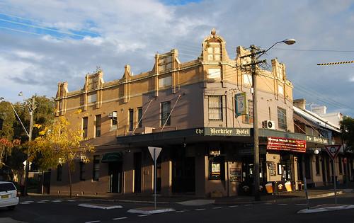 The Berkeley Hotel, Redfern, Sydney, NSW.