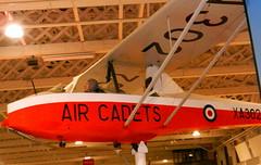 Kirby Cadet Mk.3 glider, RAF Museum, Hendon.