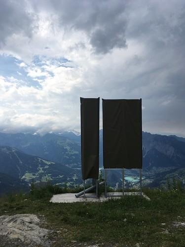 Flächen mit Alpenblick