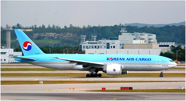 HL8048 | Boeing 777-FB5 | Korean Air Cargo