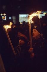 Дети с факелами / Children with torchlights