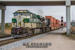 NS 8099 | GE ES44AC | NS Memphis District West End