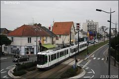 Alsthom TFS (Tramway Français Standard) – Semitan (Société d'Économie MIxte des Transports en commun de l'Agglomération Nantaise) / TAN (Transports en commun de l'Agglomération Nantaise) n°344