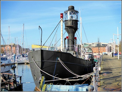 The Old Spurn Lightship ..