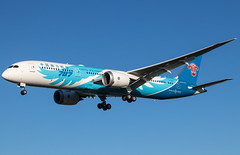 EGLL - Boeing 787 Dreamliner - China Southern Airlines - B-20D7