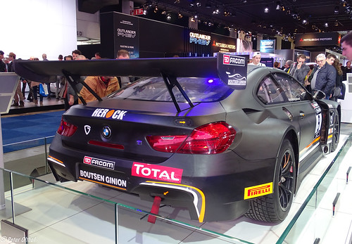 BMW M6 GT3 run by Boutsen Ginion Racing
