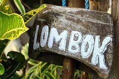 Lombok sign