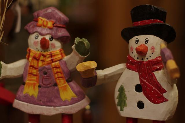 Rustic Christmas characters
