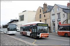 Irisbus Agora S GNV – Setram (Société d'Économie Mixte des TRansports en commun de l'Agglomération Mancelle) n°674
