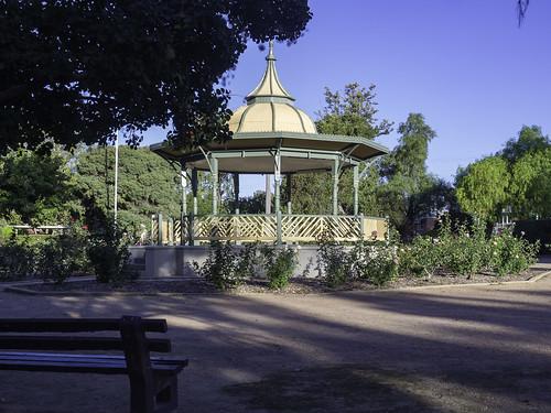 Boer War memorial Bandstand - Rotunda - Robertson Park - Mudgee NSW - see below